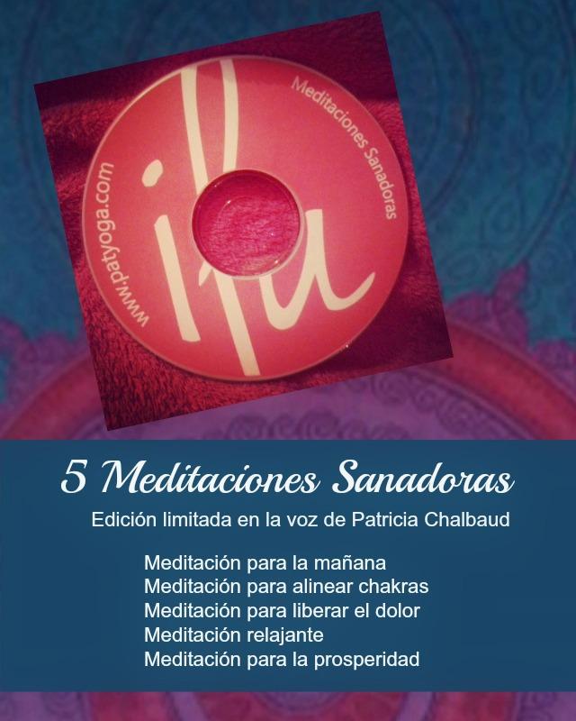 Meditaciones Sanadoras un CD de colección