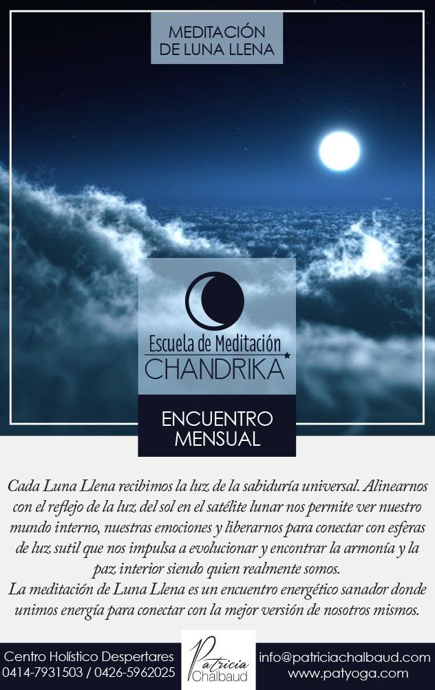 Meditación de Luna Llena en Virgo 22 de Febrero