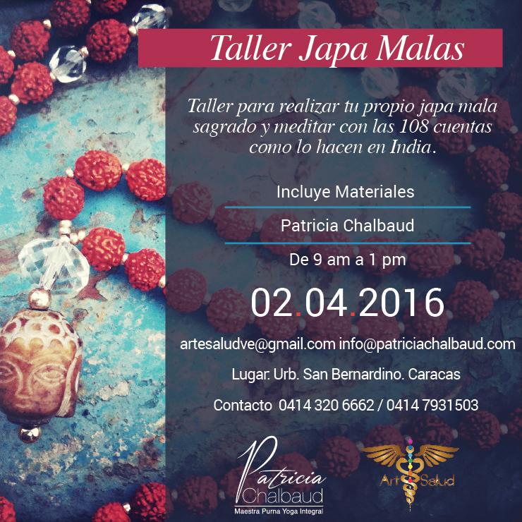 Taller Japa Malas en Caracas