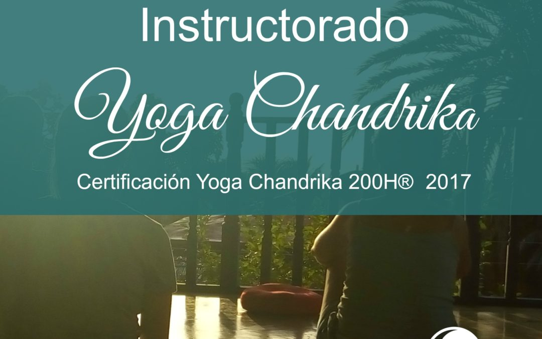 Instructorado Yoga Chandrika® 200H 2017