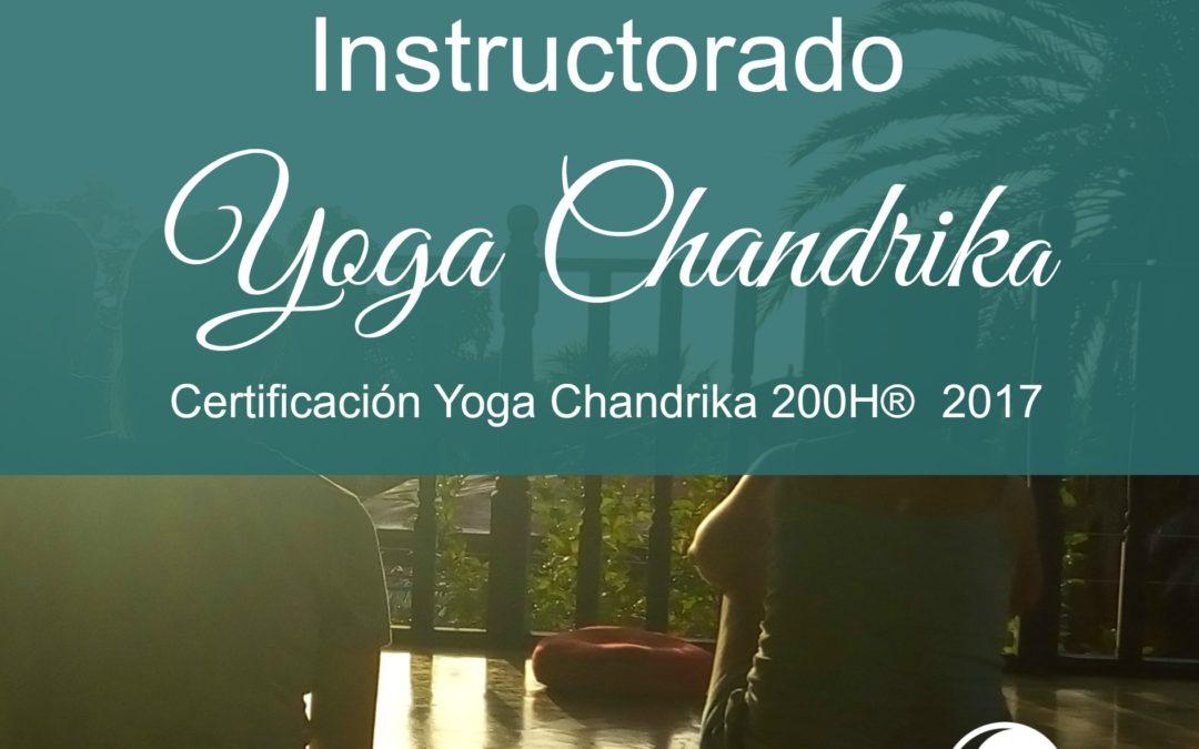 Instructorado Yoga Chandrika® 200H 2017