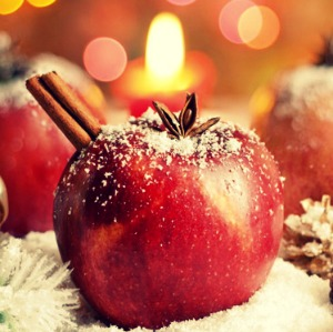 manzana navidad patricia chalbaud