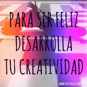 Desarrollar la creatividad nos hace más felices