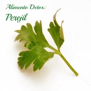 Alimento detox de la semana: Perejil