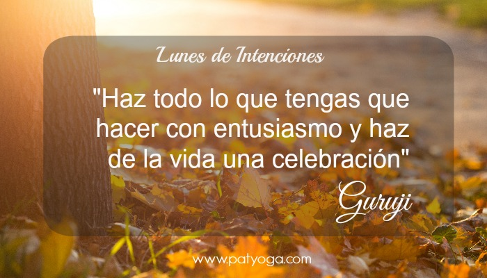 lunes de intenciones 7 dec